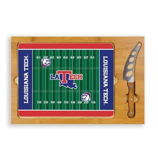 Picnic Time Louisiana University Tech Bulldogs Icon Cheese Tray