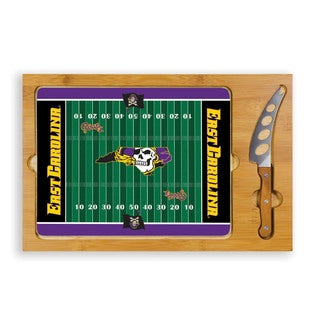 Picnic Time East Carolina University Jolly Roger Icon Cheese Tray
