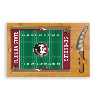 Picnic Time Florida State University Seminoles Icon Cheese Tray
