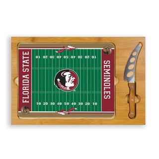 Picnic Time Florida State University Seminoles Icon Cheese Tray