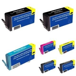 HP No. 564xl C4940A  7-ink Cartridge Set (Remanufactured)