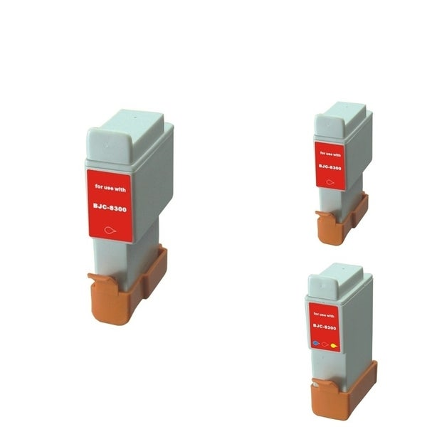 INSTEN 3-ink Cartridge Set for Canon BCI-24/ BCI-21