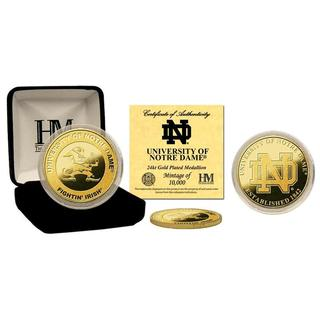 University of Notre Dame Gold Coin