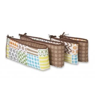 Sumersault 4-piece Crib Bumper in Doodles
