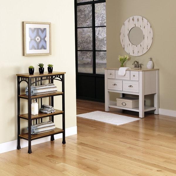 Modern Craftsman Four Tier Shelf