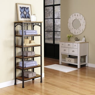 Modern Craftsman Six Tier Shelf
