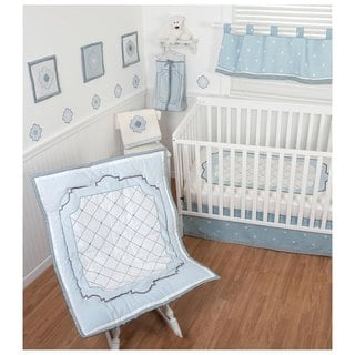 Sumersault Little Prince 4-piece Crib Bedding Set
