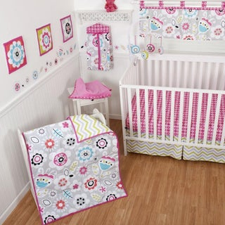 Sumersault Chelsea 10-piece Crib Bedding Set