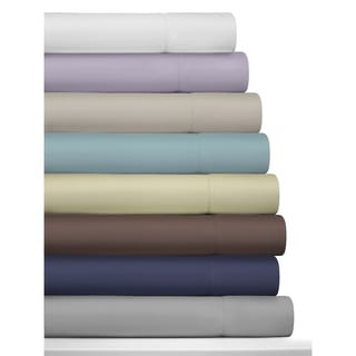 Tribeca Living 800 Thread Count Egyptian Cotton Deep Pocket Sheet Set