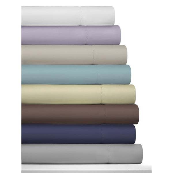 Tribeca Living 800 Thread Count Egyptian Cotton Deep Pocket Sheet Set or Pillowcase Separates