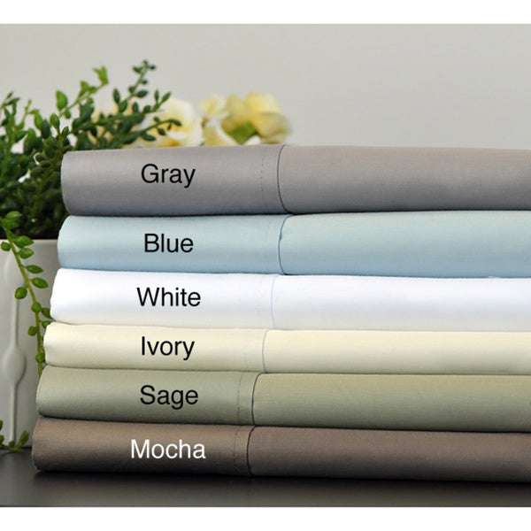 750 Thread Count Solid Luxury Sheet Set