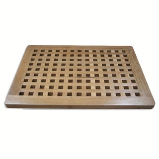 Solid Teak Shower Spa Mat