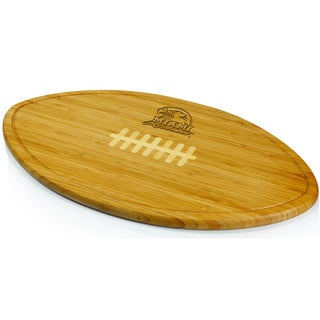 Picnic Time Kickoff Miami University Engraved Natural Wood X- Large Cutting Board