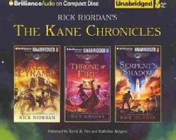 The Kane Chronicles: The Red Pyramid/ The Throne of Fire/ The Serpent's Shadow (CD-Audio)