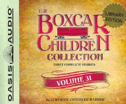 The Boxcar Children Collection: The Mystery at Skeleton Point, the Tattletale Mystery, the Comic Book Mystery; Lib... (CD-Audio)