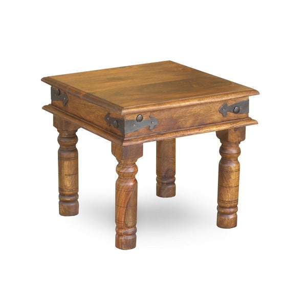 Handmade Thakat Rustic End Table (India) 11801857