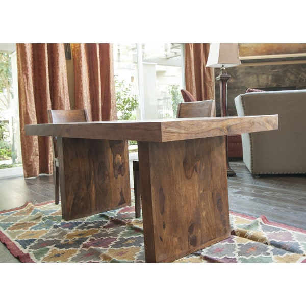 Timbergirl Handcrafted Solid Seesham Timbergirl Dining Table India