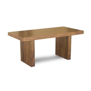 Timbergirl Handcrafted Solid Seesham 71-inch Timbergirl Dining Table (India)