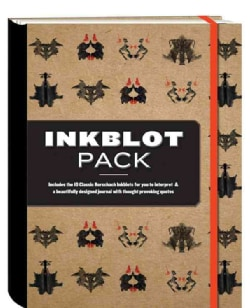The Inkblot Pack: Includes the 10 Classic Rorschach Inkblots for You to Interpret & a Beautifully Designed Journal With Thoug...