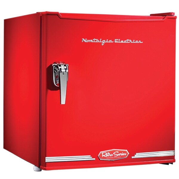 Nostalgia Electrics CRF170RETRORED Retro Series 1.7-Cubic Foot Mini Fridge