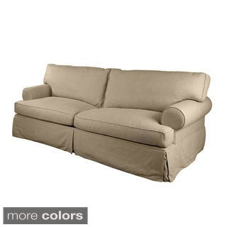 London Slipcovered Premium Linen Sofa