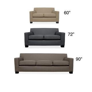Cassandra Premium Linen Sofa Overstock Shopping Great