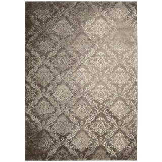 kathy ireland Home Santa Barbara Beige Brown Rug (9'3 x 12'9)