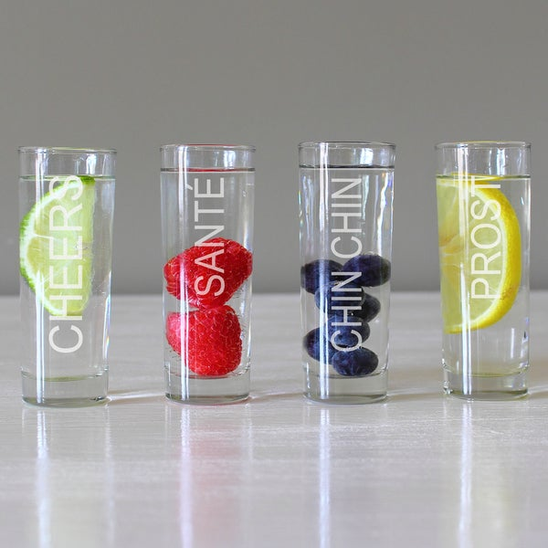 Personalized Cheers Shooters