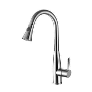 Ruvati Chrome Pullout Spray Kitchen Faucet