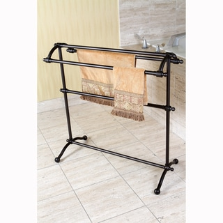Oil Rubbed Bronze Pedestal Towel Rack