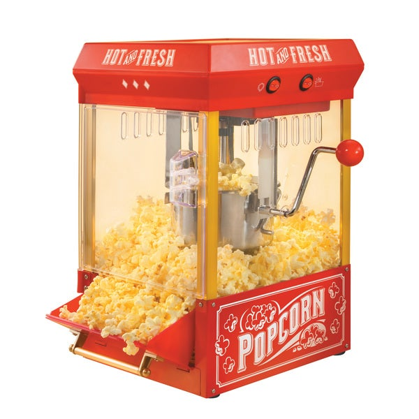 Nostalgia Electrics KPM200 Kettle Popcorn Popper