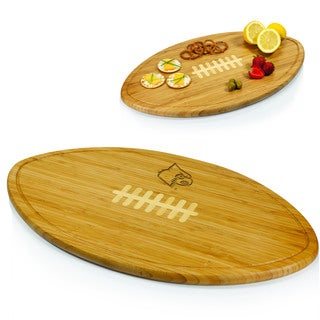 Picnic Time Kickoff University of Louisville Cardinals Engraved Natural Wood X- Large Cutting Board
