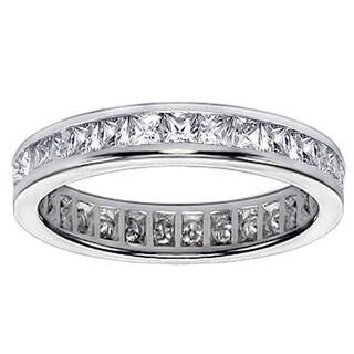 Platinum or 14k/ 18k Gold 2ct TDW Diamond Wedding Band (F-G, SI1-SI2)