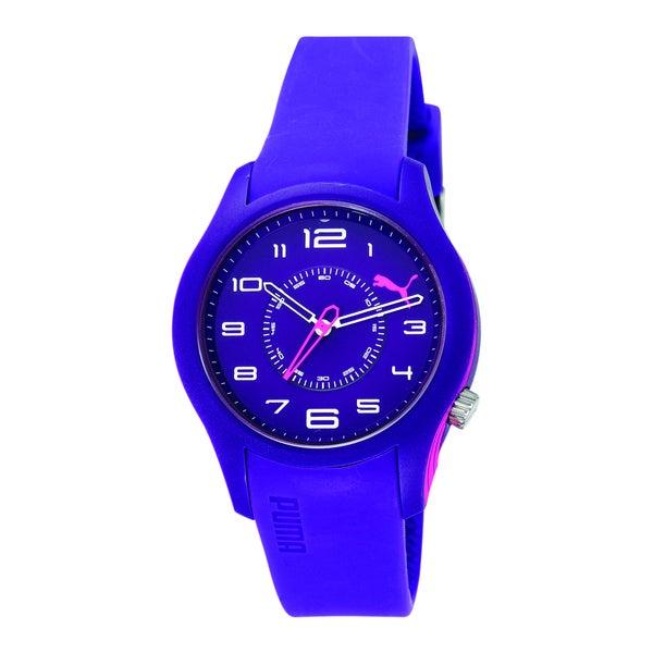 Puma Women's Purple/ Pink Analog Watch
