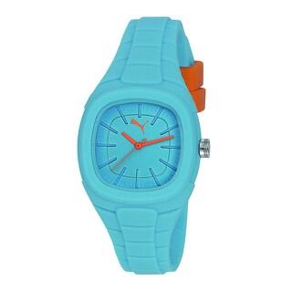 Puma Women's PU102882004 Bubble Gum S Blue/ Orange Silicone Watch