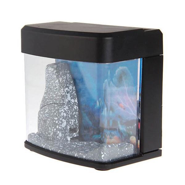USB-powered LED Light Mini Aquarium
