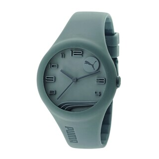 Puma Men's PU103001005 Grey Silicone Watch