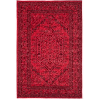 Safavieh Adirondack Red/ Black Rug (5'1 x 7'6)