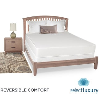 Select Luxury Reversible Medium Firm 8-inch Full-size Foam Mattress