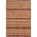 Safavieh Hand-knotted Selaro Geometric-pattern Multicolored Wool Rug (5' x 8')