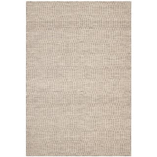 Safavieh Hand-woven Sumak Dark Brown Wool Rug (6' x 9')