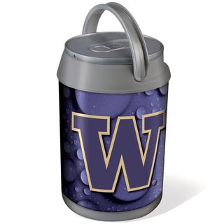 Picnic Time Silver University of Washington Huskies Mini Can Cooler