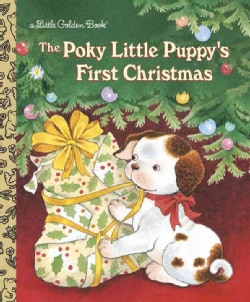The Poky Little Puppy's First Christmas (Hardcover)
