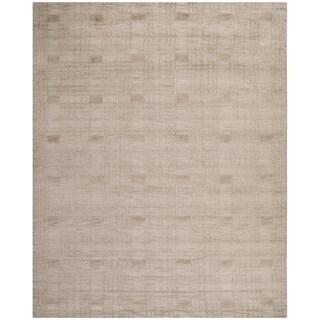 Safavieh Hand-knotted Tibetan Slate Wool Rug (8' x 10')