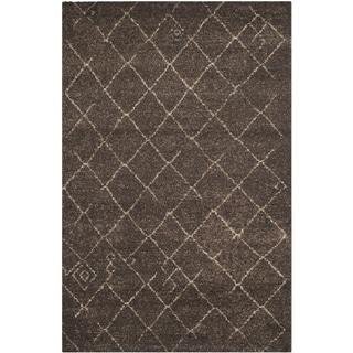 Safavieh Tunisia Dark Brown Rug (4' x 6')