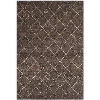 Safavieh Tunisia Dark Brown Rug (5'1 x 7'6)