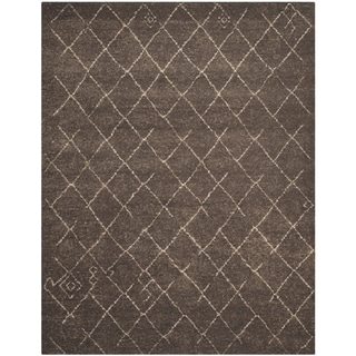Safavieh Tunisia Dark Brown Rug (8' x 10')