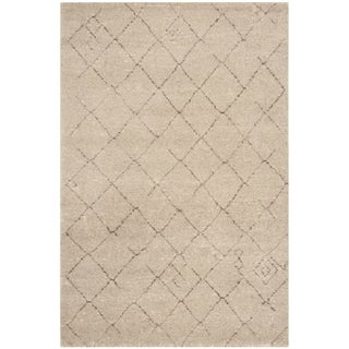 Safavieh Tunisia Crisscross-pattern Ivory Rug (4' x 6')
