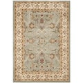 Safavieh Majesty Blue/ Cream Rug (5'3 x 7'6)
