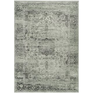 Safavieh Vintage Spruce/ Ivory Viscose Rug (8' x 11'2)